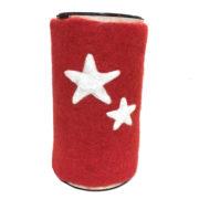 Rød med to stjerner