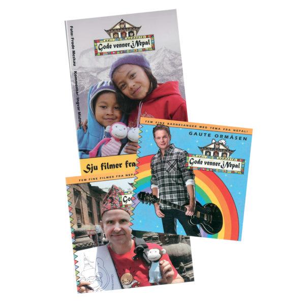 Nepal-pakke_CD_DVD