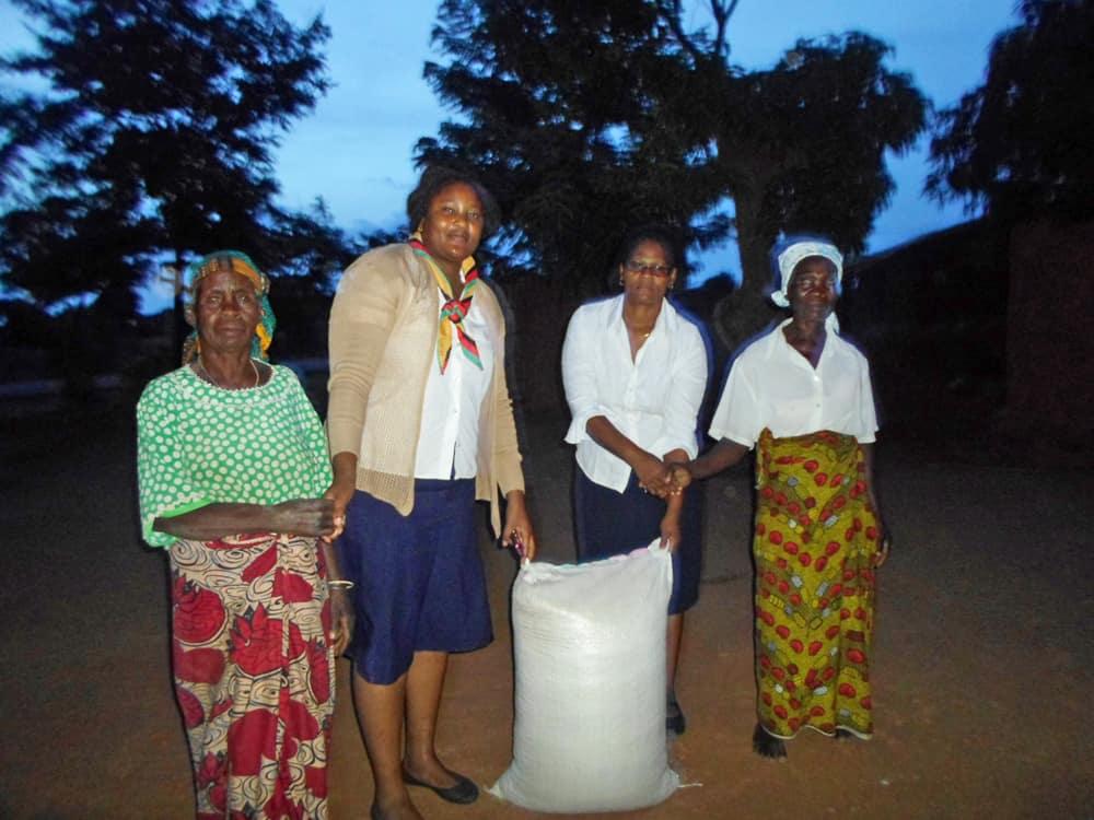 Malawi - utdeling av mat