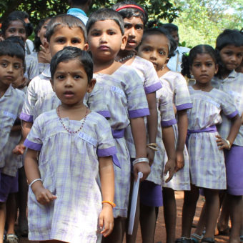 India - skolebarn
