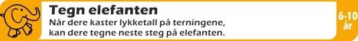 SPILL-TEGN-ELEFANT