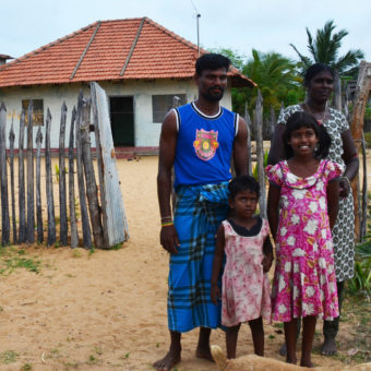 Sri Lanka - nytt hus ny