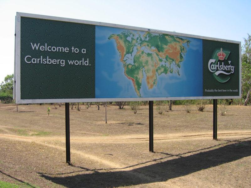 Carlsbergreklame