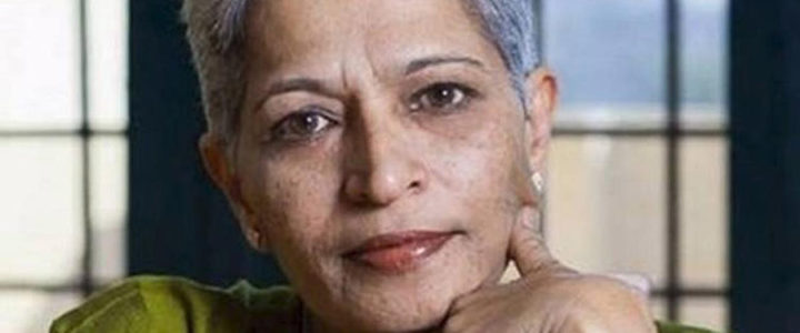 FORUT condemns murder of journalist Gauri Lankesh