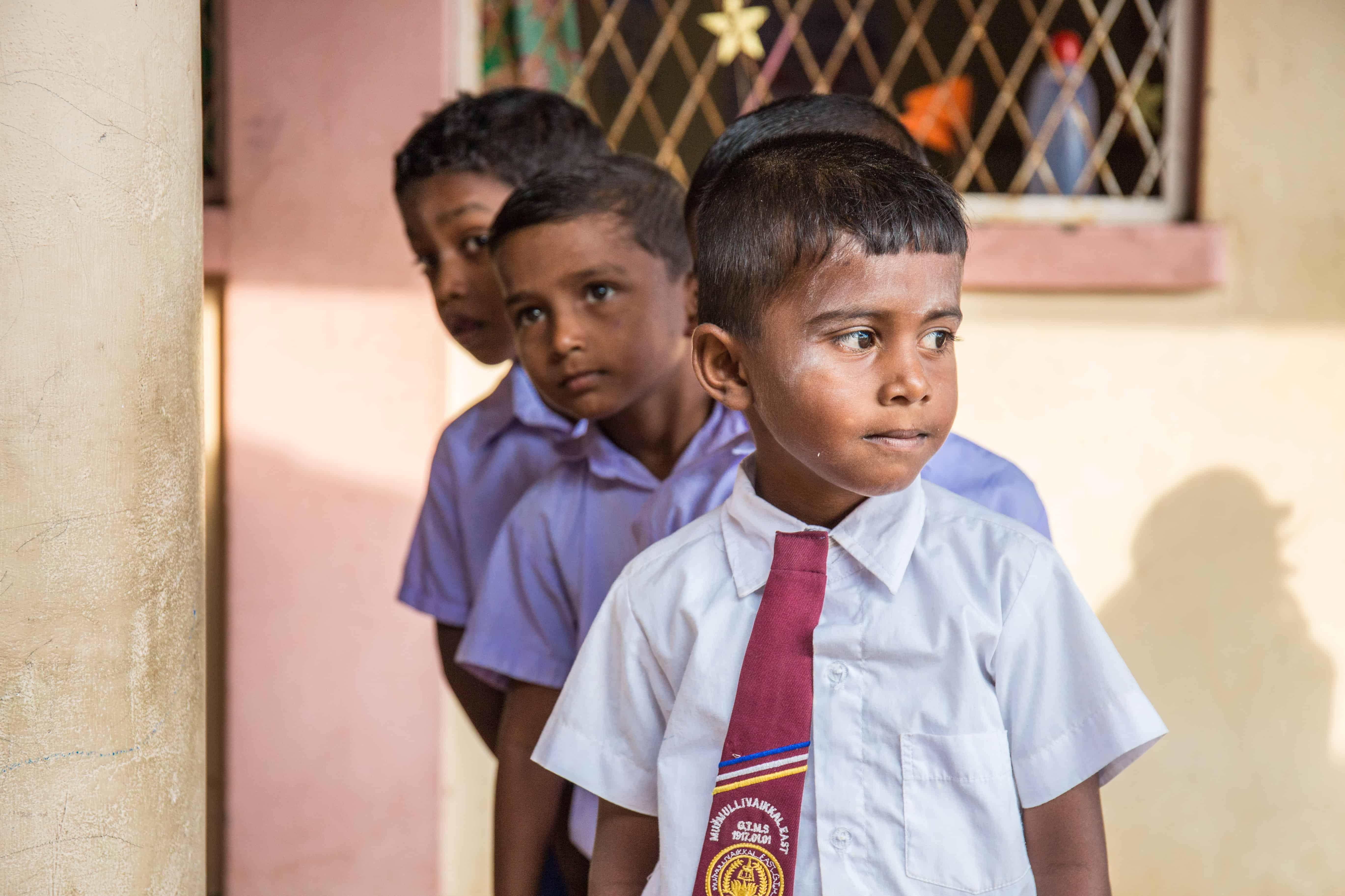 Sivatas har begynt på skolen.