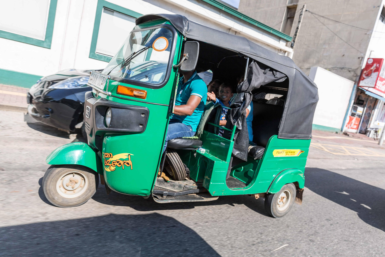 Det er gøy å kjøre tuktuk!