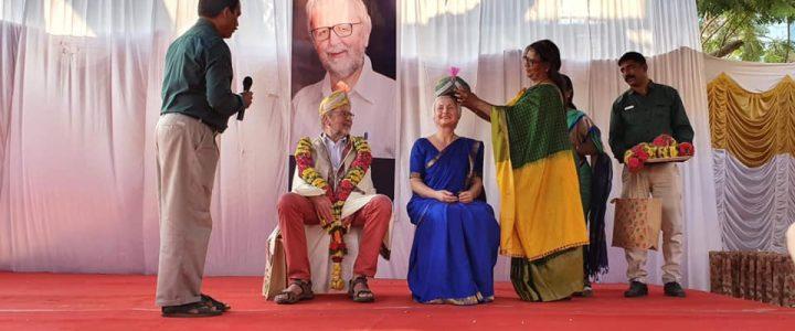 Terje Heggernes hedret i India