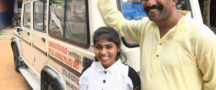 Jaleel i Bangalore: en av byens viktigste sjåfører
