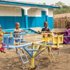 Barn i Norge sørget for barnehage i Sierra Leone
