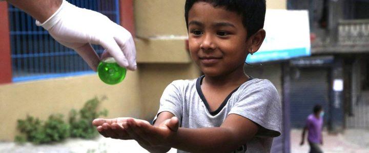 Millionavtale om hjelp til koronarammede i Nepal