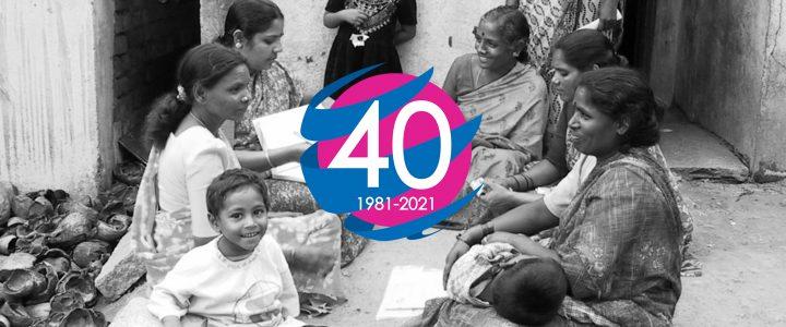 40 år for utvikling